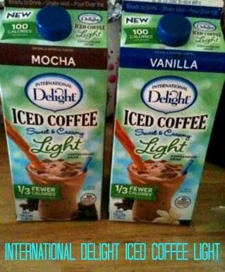 International Delight Iced Coffee 2-New Light Versions #LightIcedCoffee