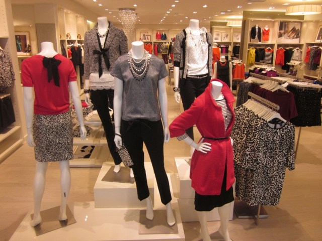 Ann Taylor Concept Store Image Fall 2012