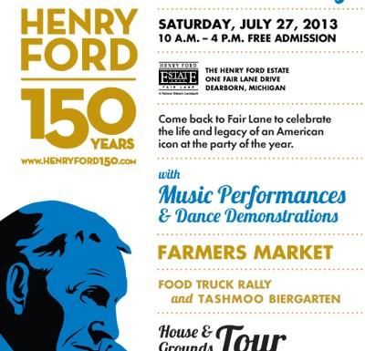 Celebrating Henry Ford's 150th Birthday