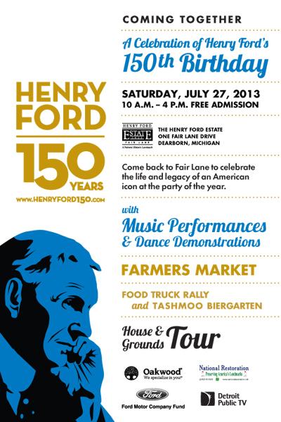 Henry Ford Celebration