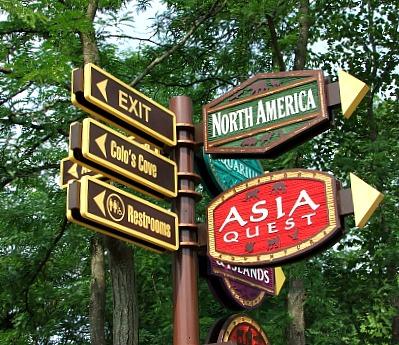 expcols zoo signage
