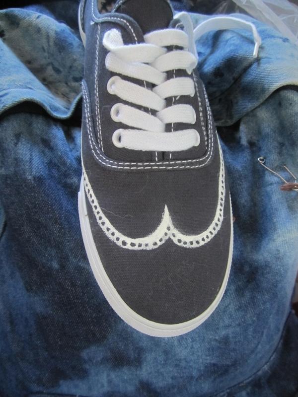 great gatsby tennis shoe 7