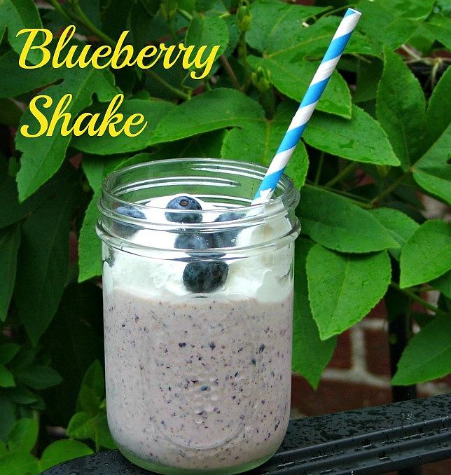 Delicious-Blueberry-Shake