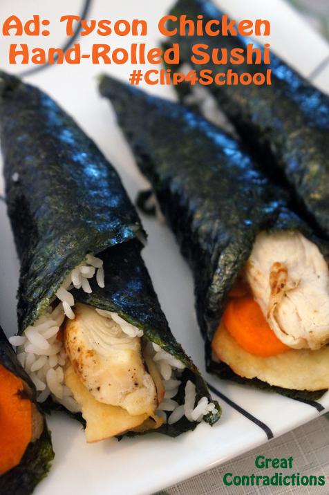 Tyson-Chicken-Hand-Rolled-Sushi