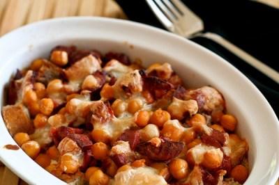 chickpea-chorizo-casserole