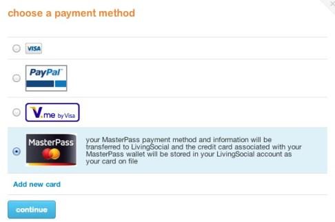 #MasterPass Checkout