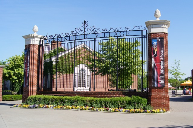 Greenfield Village Entrance