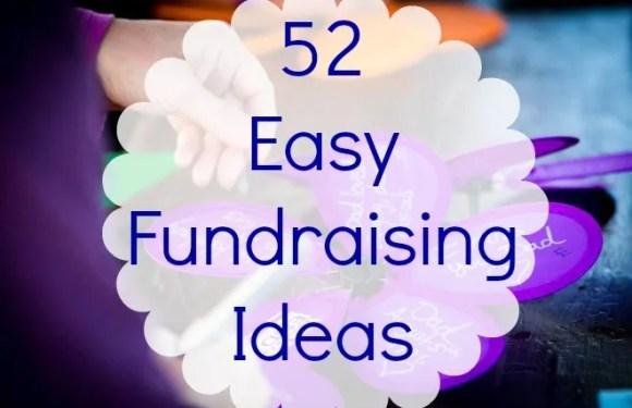 52 Easy Fundraising Ideas