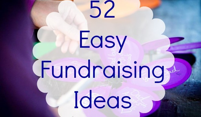 52 Easy Fundraising Ideas