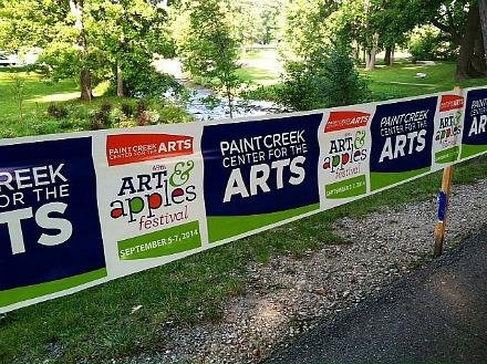 arts anda pples 2014 signage