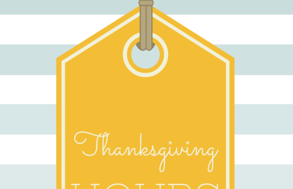 Mall Hours for Thanksgiving Shopping
