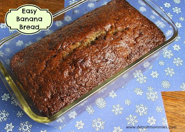 Easy_Banana_Bread #TasteTheMiracle