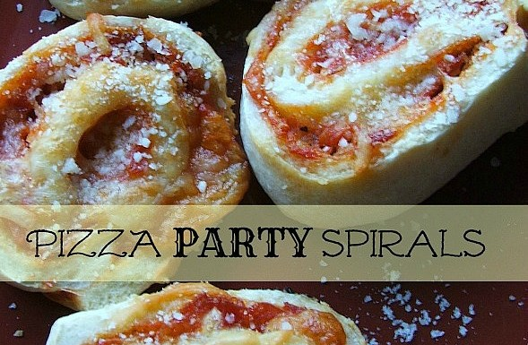 Pizza Party Spirals – A Perfect Party Appetizer