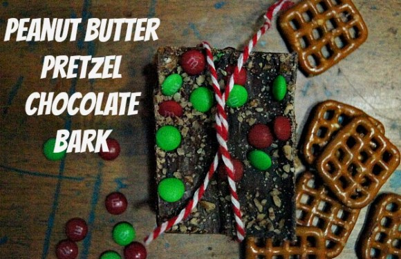 Delicious Peanut Butter Chocolate Pretzel Bark
