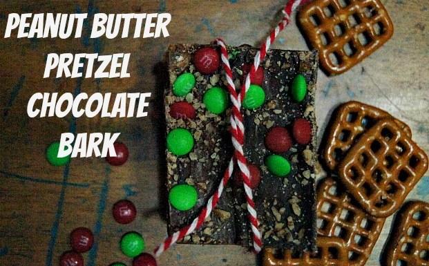 Delicious Peanut Butter Chocolate Pretzel Bark