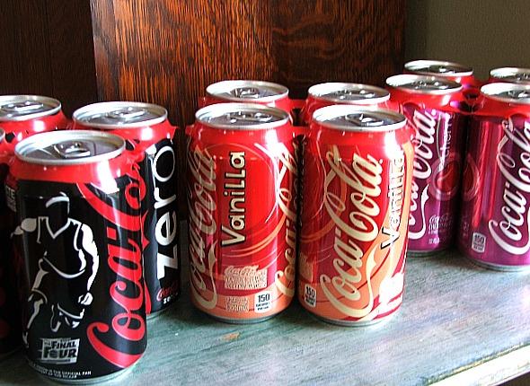 #FinalFourPack Coke Variety