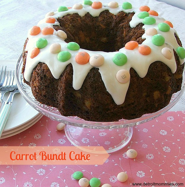 Rich Carrot Bundt Cake #MMsCarrotCake