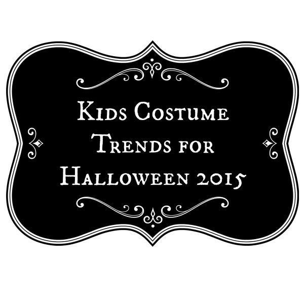 kids costume trends