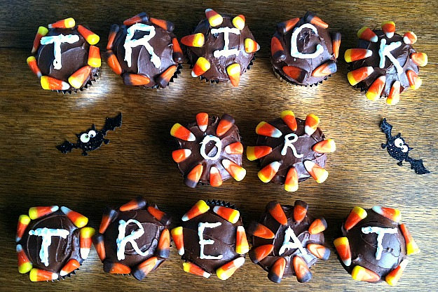 TrickorTreat Cupcakes