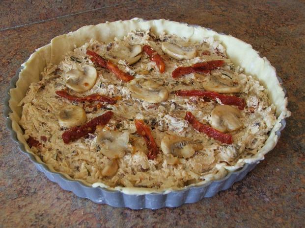 #NaturallyCheesy Mushroom Tart Recipe