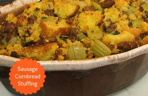 A New Holiday Favorite – Sausage Cornbread Stuffing