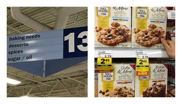 Nestle Toll House Baking Mix Ice Cream Cake #mixinmoments