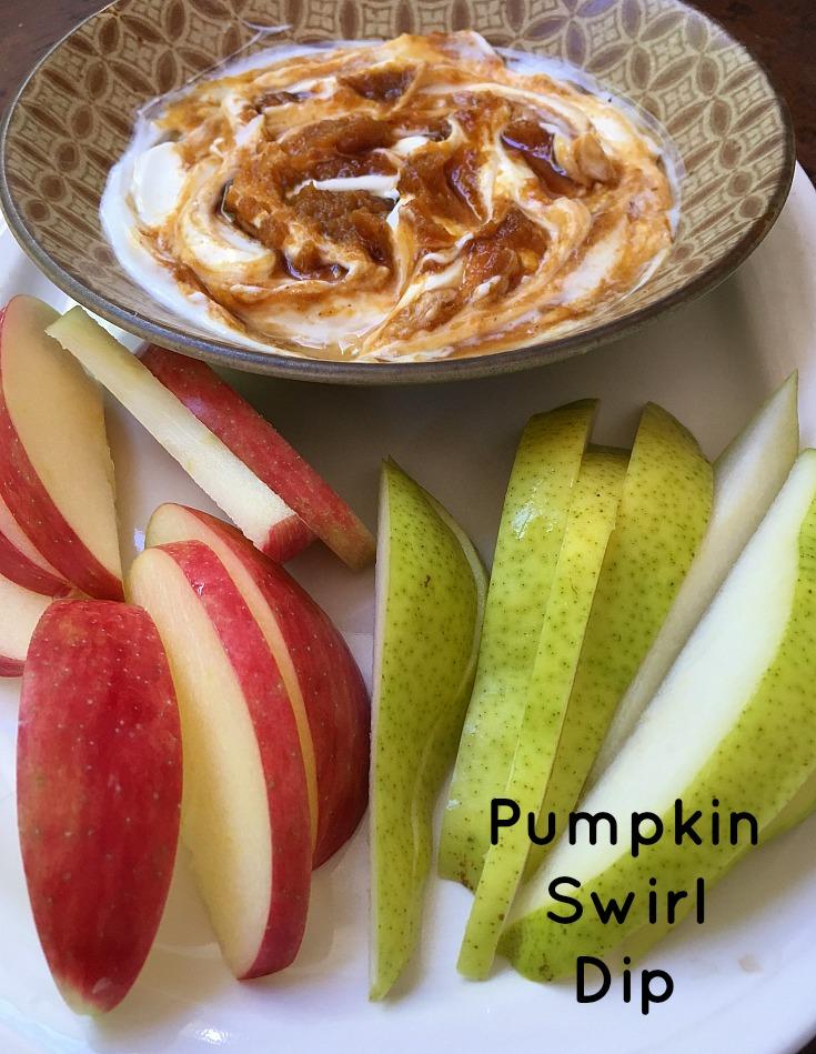 Pumpkin Swirl Dip