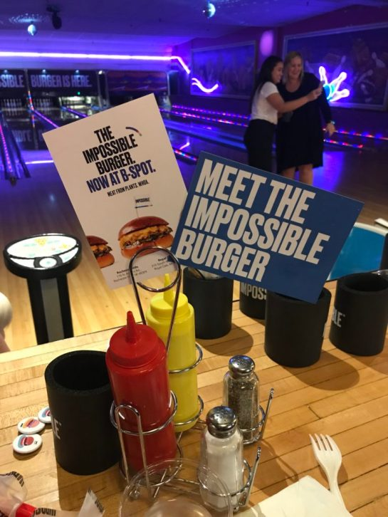 Impossible Burger Detroit Event