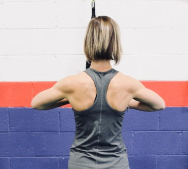 Meghan Ritchie Builds Muscle with Detroit Mommies