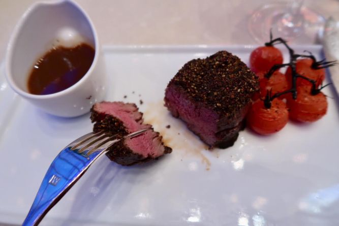 Filet at Iridescence at MotorCity Casino Hotel