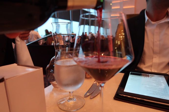 Silver Oak Wine at Iridescence