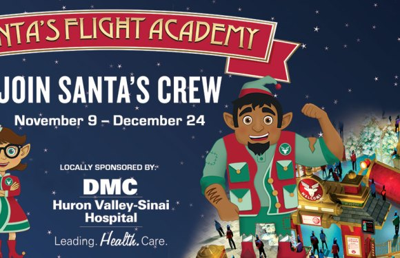 Kids Can Join Santa's Flight Crew at Twelve Oaks Mall
