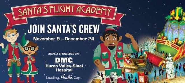 Visit Santa and Mrs. Claus at Twelve Oaks Santa