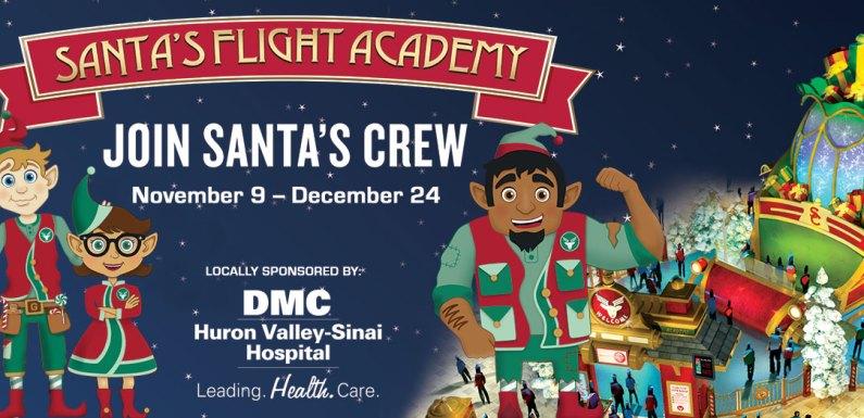 Kids Can Join Santa's Flight Crew at Twelve Oaks Mall