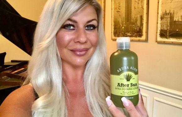 Aruba Aloe Skincare Products