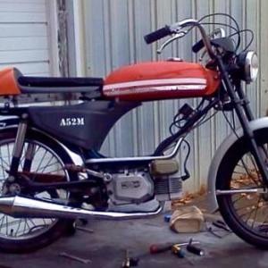 Pacer top tank CAFE RACER (SOLD)