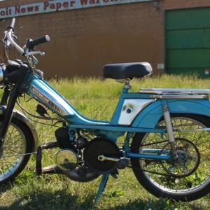 1978 Blue Motobecane Mobylette 50V (SOLD)