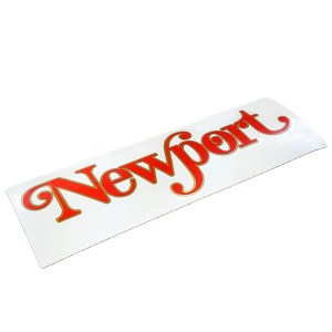 Reproduction Puch Newport frame decal
