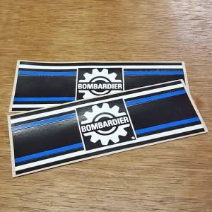 Bombardier NOS Decal Set