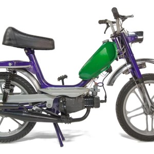 Custom 1977 Purple & Green Mototecnica Gabbiano V1 (SOLD)