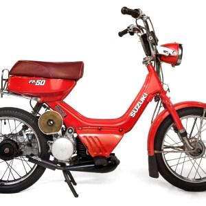 1984 Red Suzuki FA50F Shuttle (SOLD)