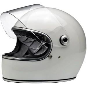 Biltwell Gringo S Gloss White ECE Helmet