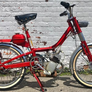 Late 50's ABG VAP moped project – as is