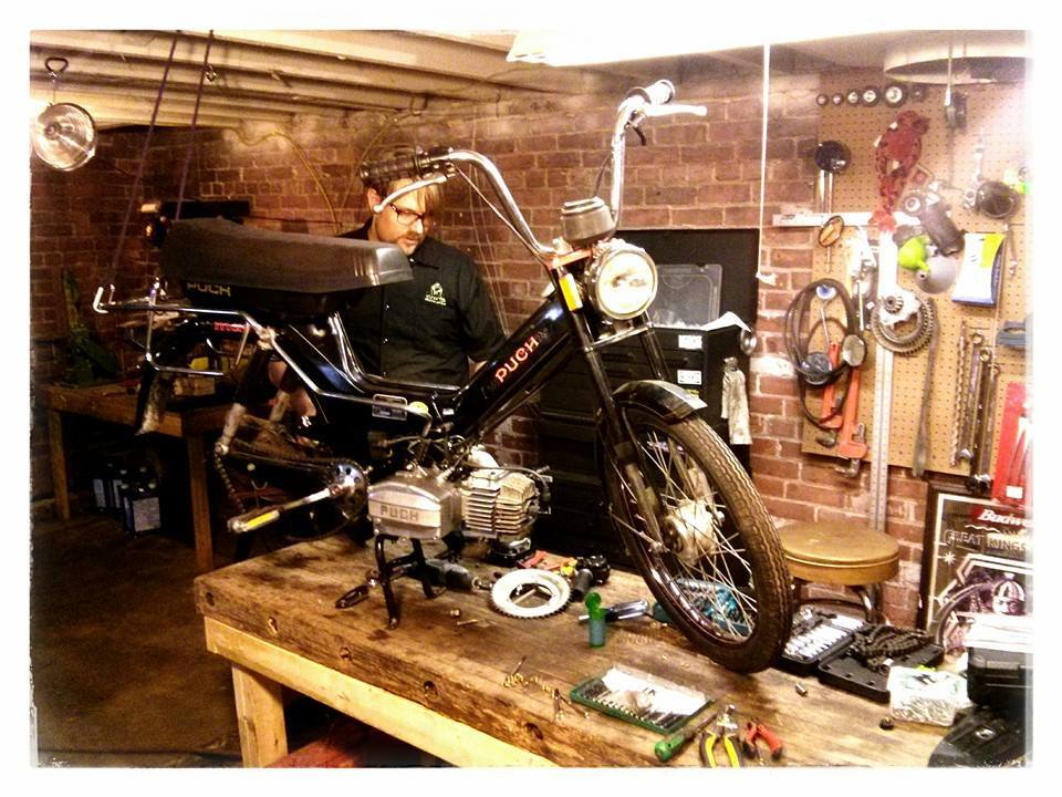 Detroit Moped Works will no longer perform repairs, restoration and customizations
