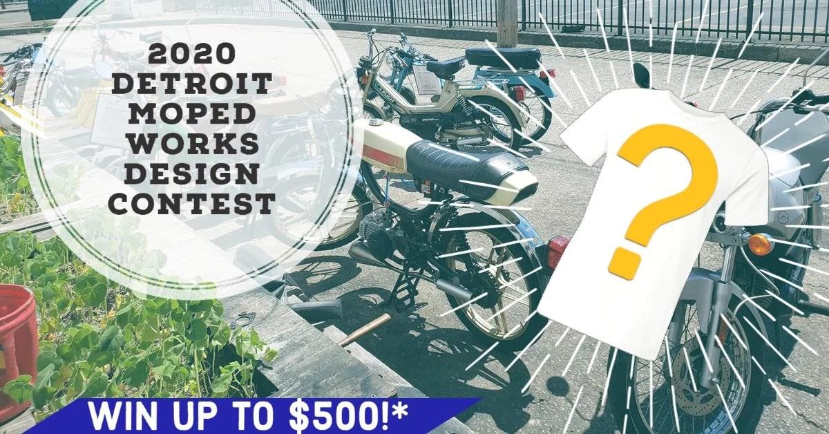 2020 Detroit Moped Works Design Contest