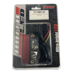 Vertical fixation RED LED tail light