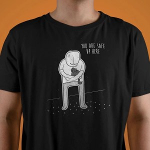 Huggable Henchmen Up Here T-Shirt