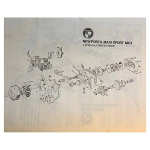 Puch ZA50 first speed clutch (BAD condition) (used)