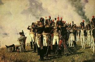 Описание картины В. В. Верещагина «Наполеон на Бородинских высотах»