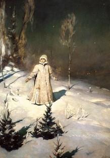 Описание картины В. М. Васнецова «Снегурочка»